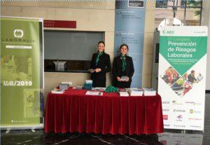 Laboralia, presente en el 5º Congreso de Prevención de Riesgos Laborales celebrado en Valencia