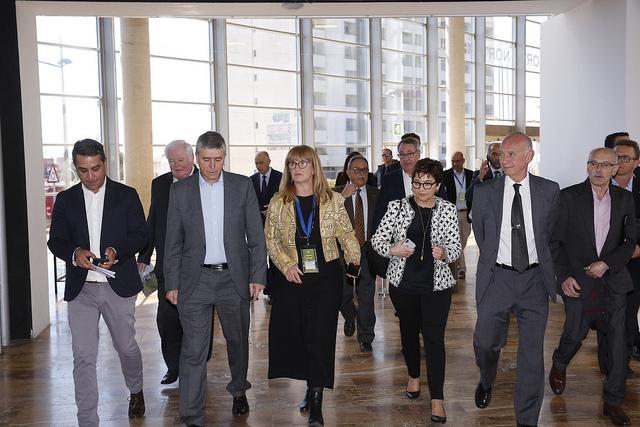 El conseller Climent inaugura Laboralia y el president de la Generalitat Valenciana Ximo Puig preside los Premios Llum de la CEV