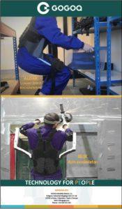 Lee más sobre el artículo Gogoa presenta su exoesqueleto BESK